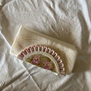 💞Vintage floral napkin holder💞